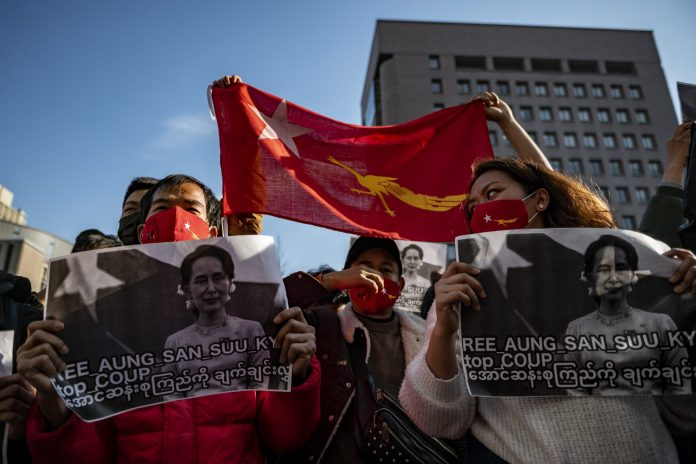 MYANMAR PROTESTERS NOMINATED FOR NOBEL PEACE PRIZE