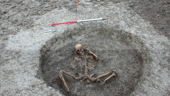 GHOST BUSTERS NEEDED AFTER 3,000 YEAR OLD SKELETONS FOUND