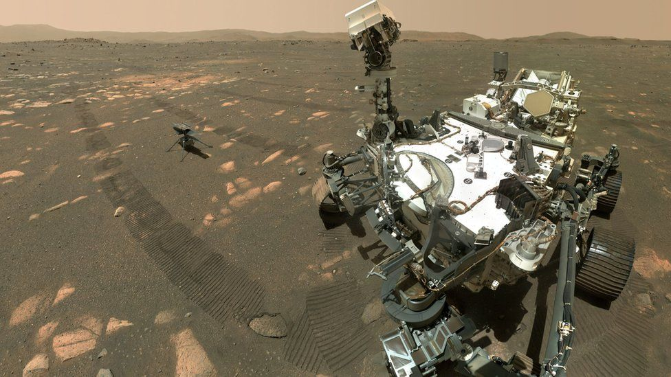 HISTORY MADE: THE FIRST POWERED, CONTROLLED FLIGHT ON MARS