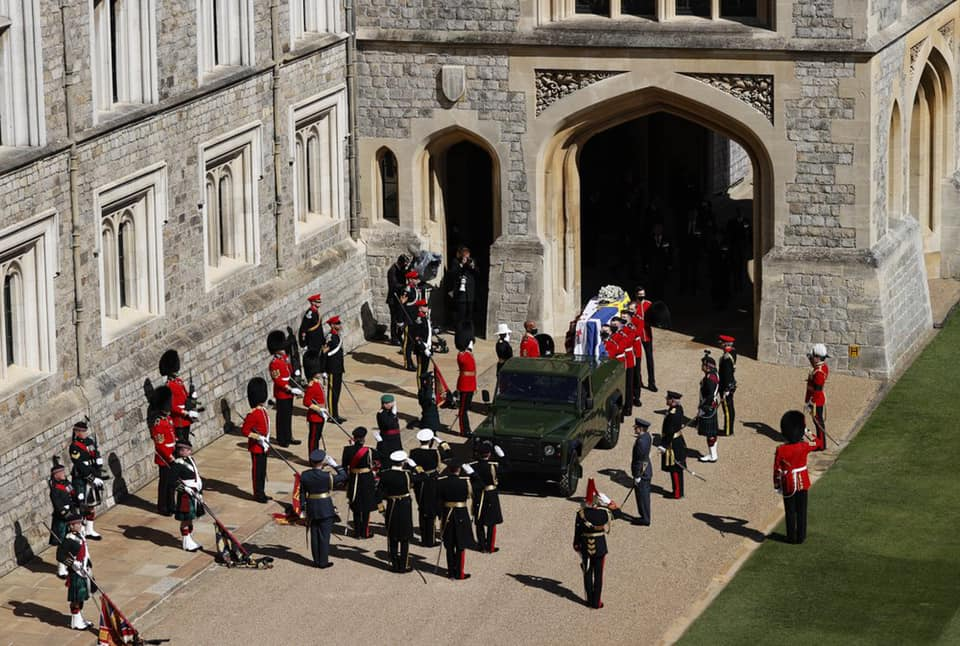 THE FUNERAL OF PRINCE PHILIP - 'A MAN OF COURAGE, FORTITUDE AND FAITH'