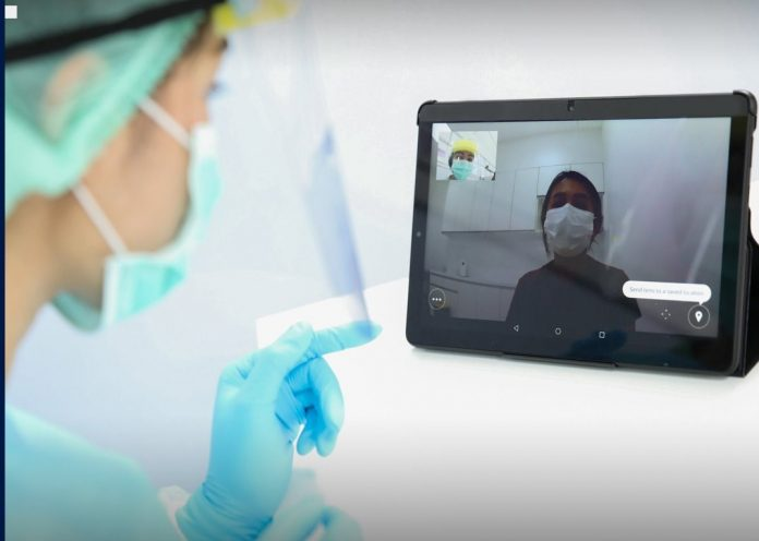HOSPITALS URGING USE OF TELEMEDICINE SERVICES