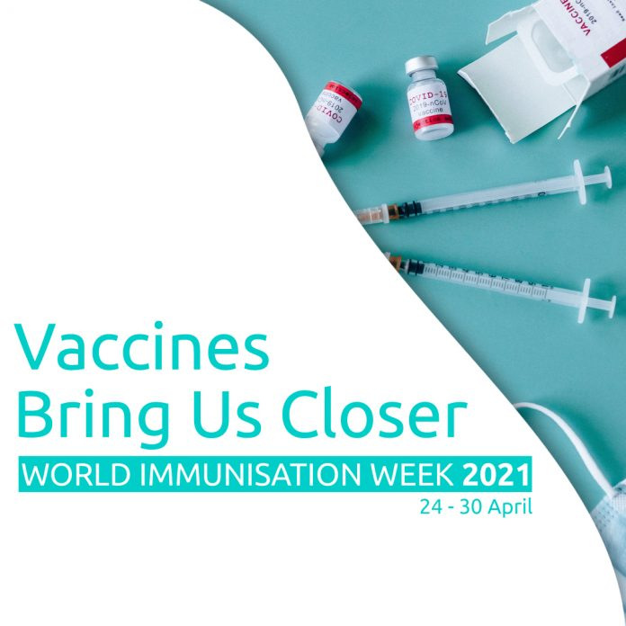 CALLS TO THE AUSTRALIAN EMBASSY TO FACILITATE VACCINATIONS FOR CITIZENS IN THAILAND DURING WORLD IMMUNISATION WEEK