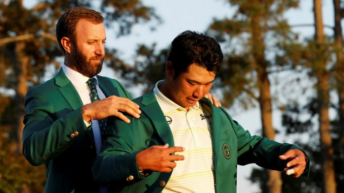 JAPAN'S FIRST WINNER AT THE 2021 US MASTERS