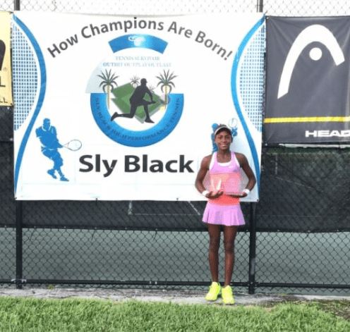 SPORTING PEOPLE OF THE ROYAL COAST:  SLY BLACK; INTERNATIONAL TENNIS COACH