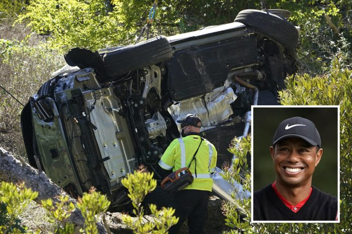 LOSS OF CONTROL AT HIGH SPEED BLAMED FOR TIGER WOODS SUV CRASH