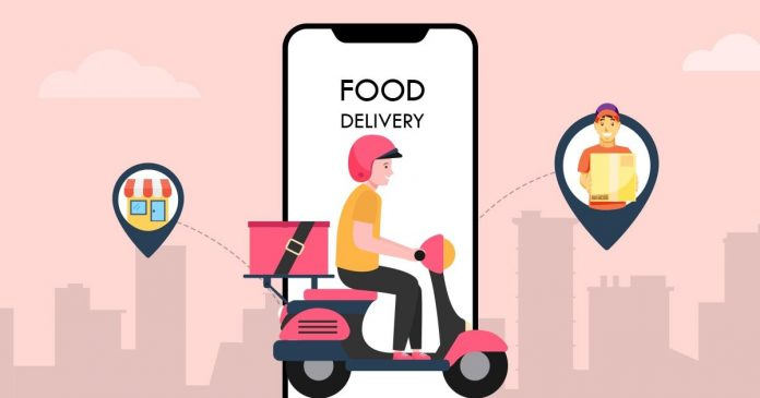 ONLINE FOOD DELIVERY SERVICES ON A ROLL
