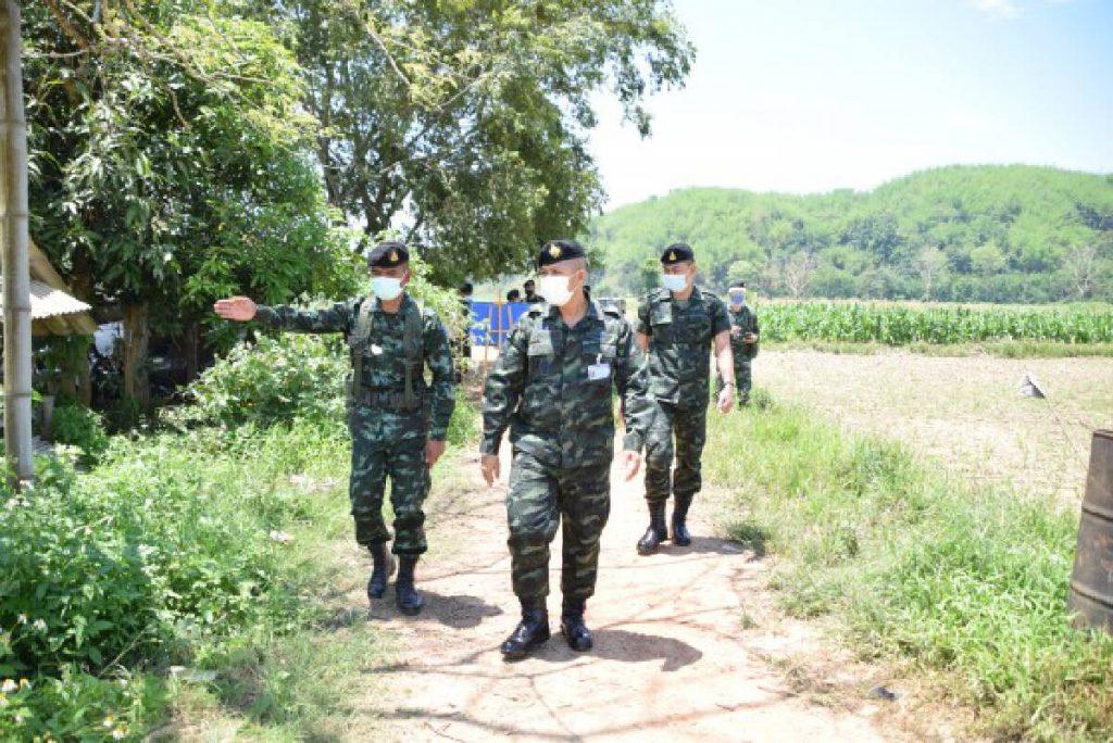 THAI 'RETURNEES' A FOCUS FOR MYANMAR BORDER PATROLS