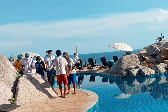 BILLONAIRE COUPLE IN MYSTERIOUS RESORT SWIMMING POOL DEATHS
